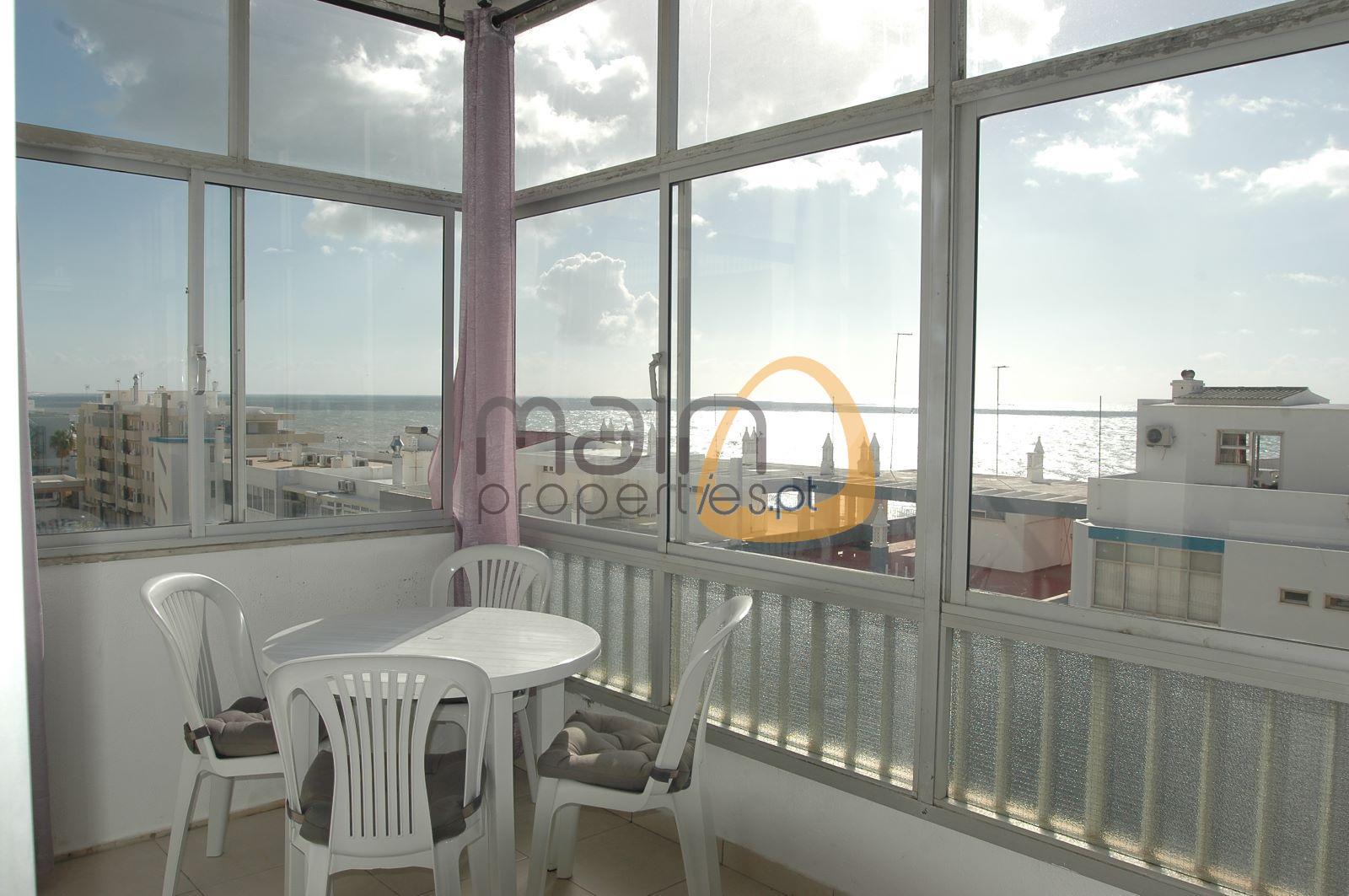 Apartamento 1 quarto e Vista Mar em Quarteira