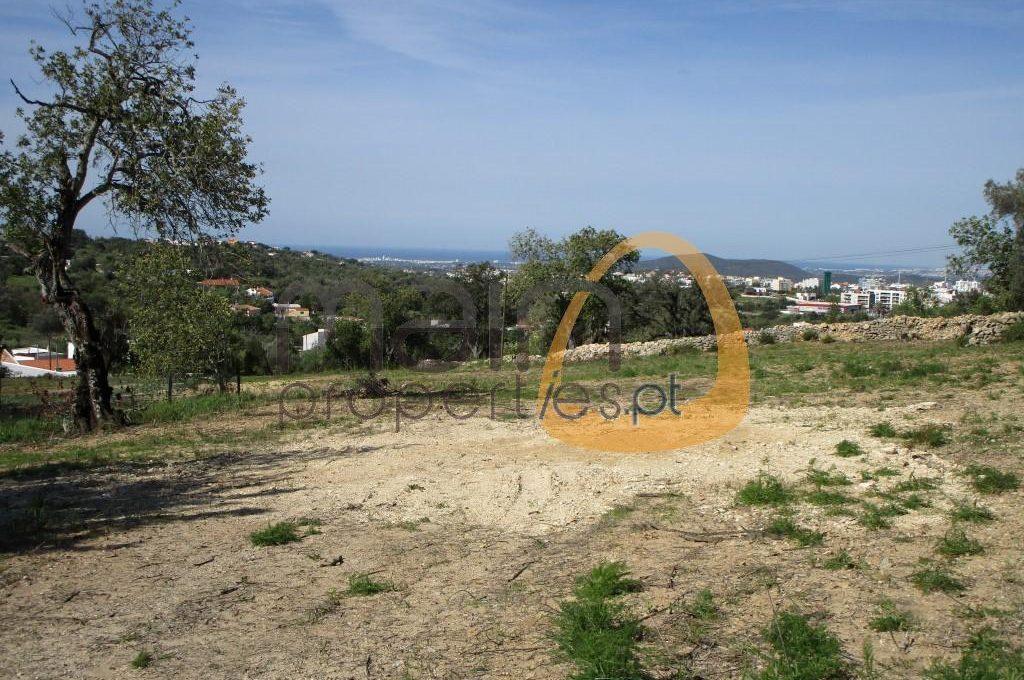 Terreno com vista mar para construção de 5 moradias em Loulé MP100FT
