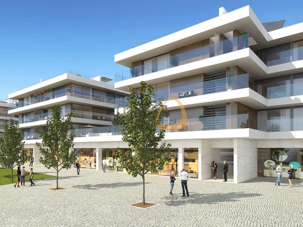 Investimento - Lote para prédio com 8 apartamentos em Almancil RF135_PP1