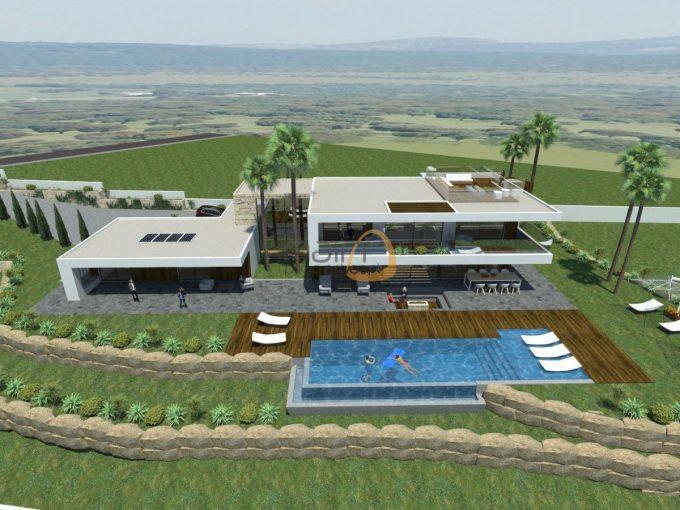 Terreno para construção de moradia com vista mar na Goldra - Santa Bárbara de Nexe :: MP103FT