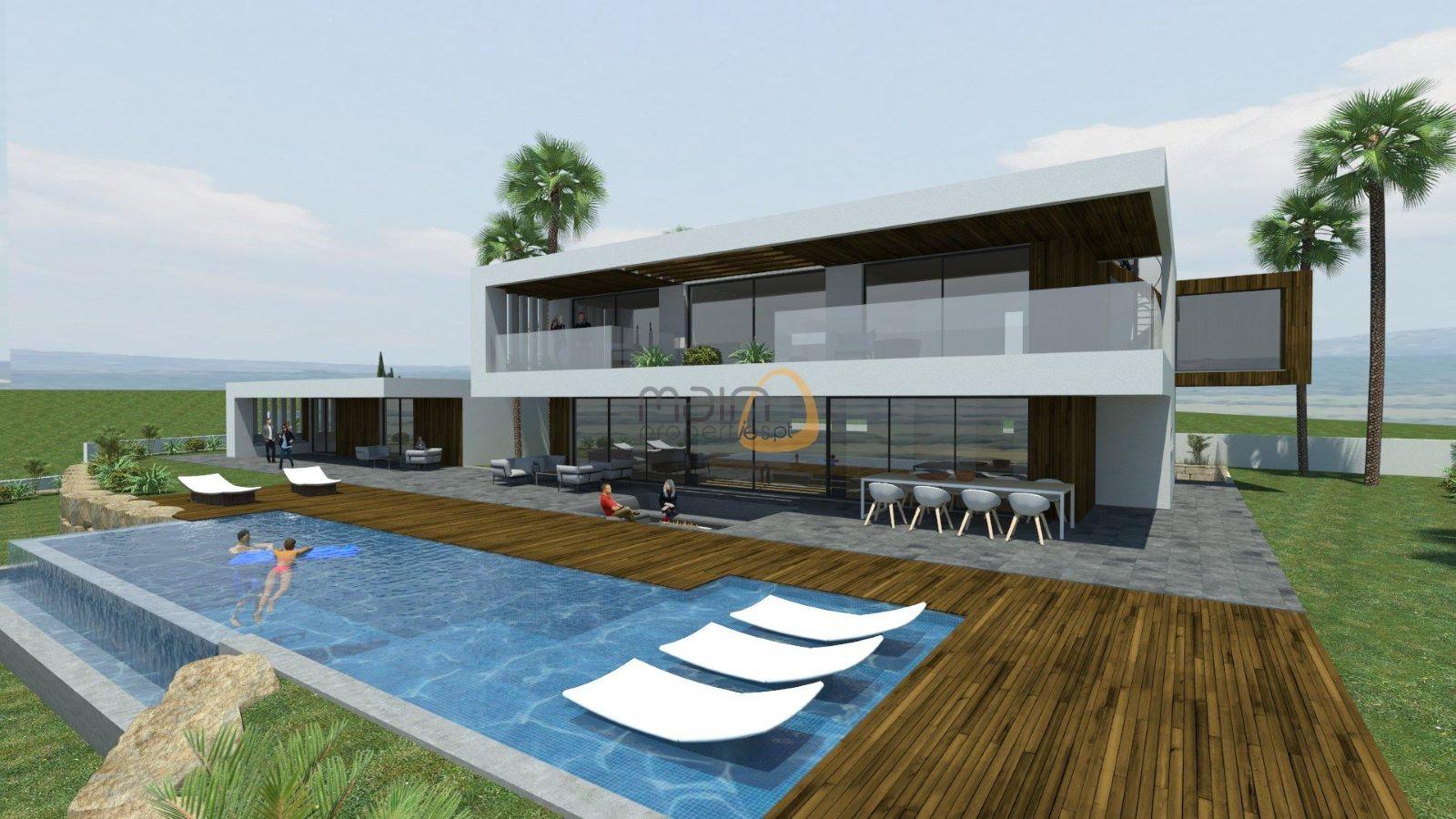 Terreno para construção de moradia com vista mar em Goldra - Santa Bárbara de Nexe MP103FT