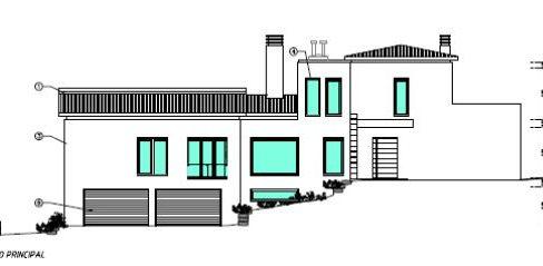 Moradia com 5 quartos nova com vista mar próxima de Loulé PC296