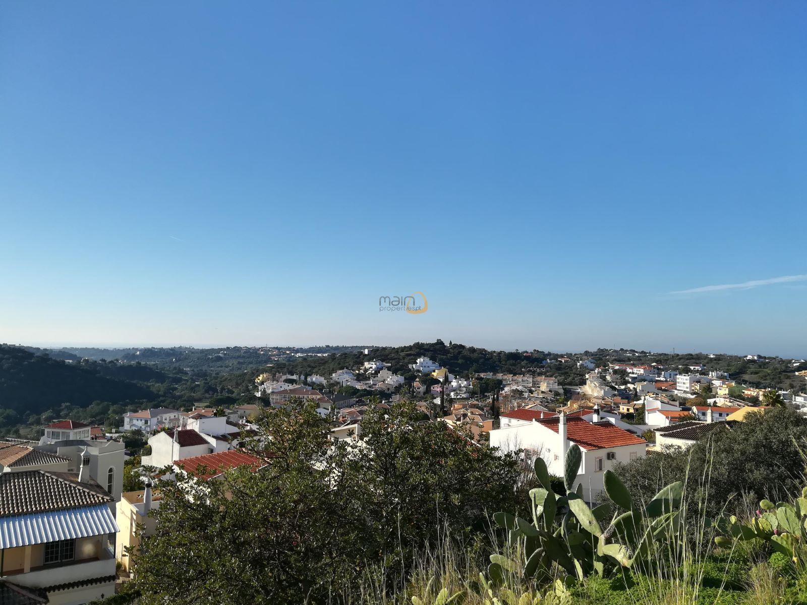 Terreno para construção de moradia com vista mar em Loulé