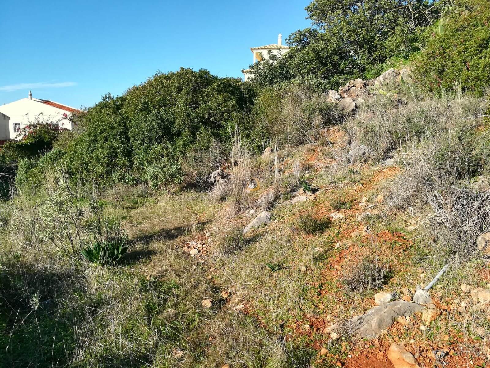 Terreno para construção de moradia com vista mar em Loulé PC221