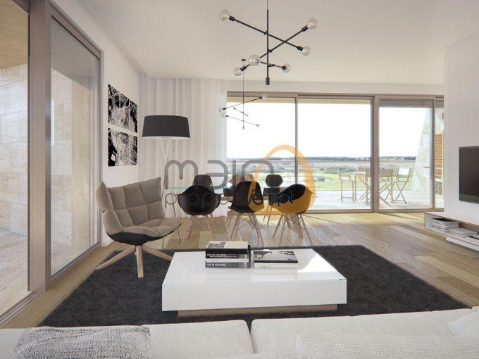 Apartamento de luxo com 3 quartos em Vilamoura - sala
