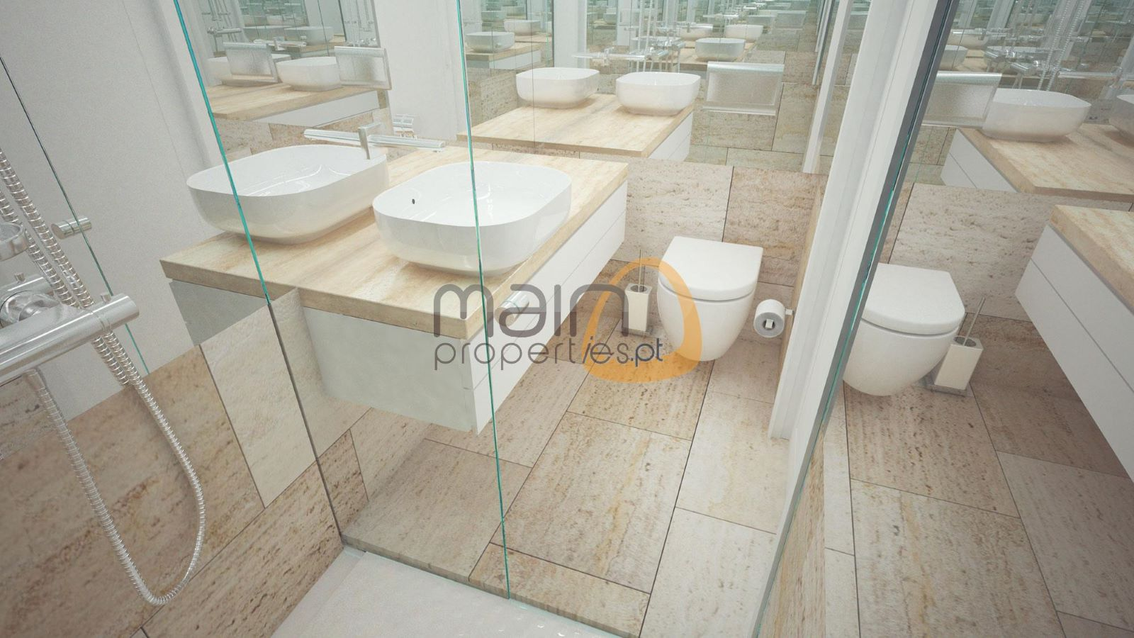 Apartamento com 2 quartos de luxo em construção em Vilamoura RF142