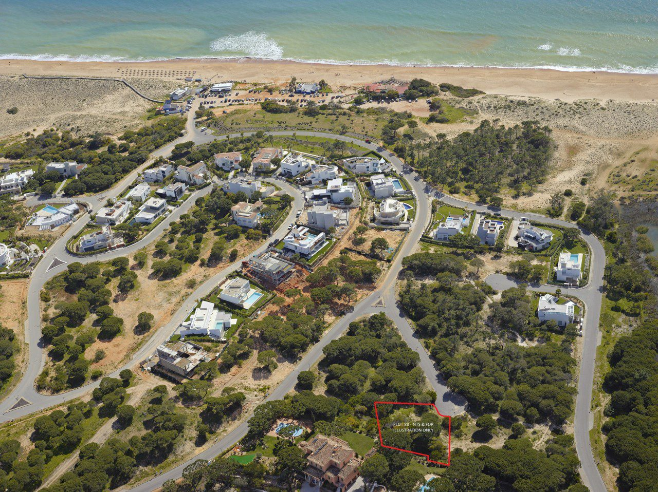Plot for in Vale do Lobo for sale
