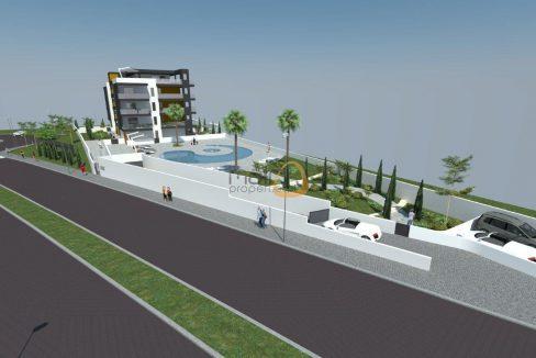 Apartamento novo com 2 quartos e piscina próximo da praia de Quarteira JG072_1