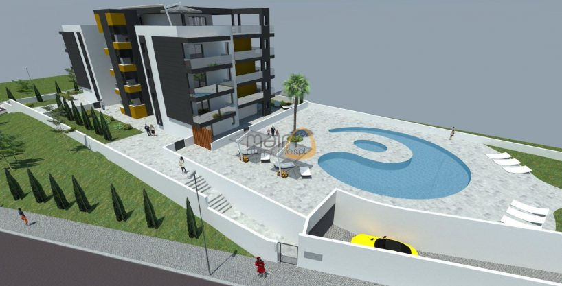 Brand New apartment with 3 bedrooms and pool near the beach of Quarteira