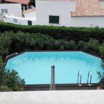 Moradia com 4 quartos e piscina privada em Santa Bárbara de Nexe - piscina