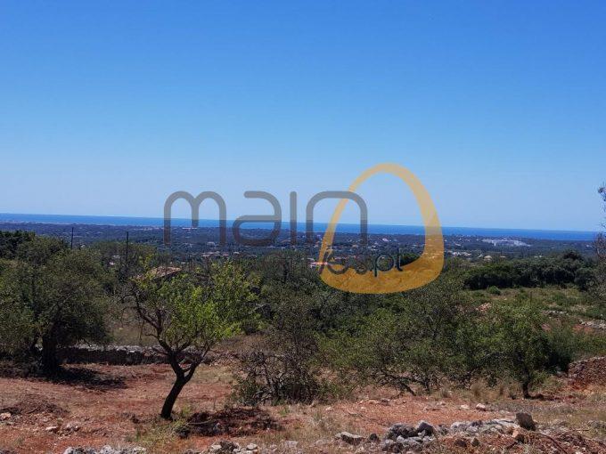 Terreno com vista mar para construção de moradia próximo de Loulé :: PC344