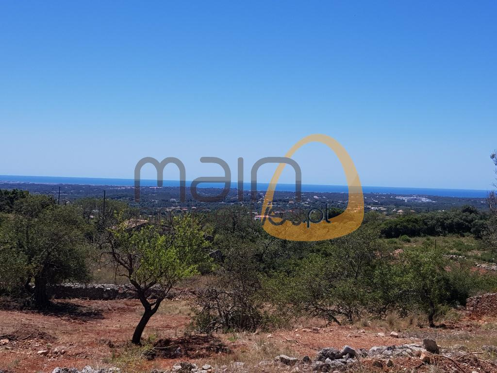 Land with sea view for villa construction near Loulé