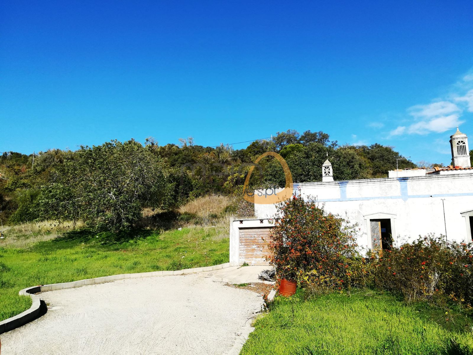 Land with sea view for Villa building in Bordeira