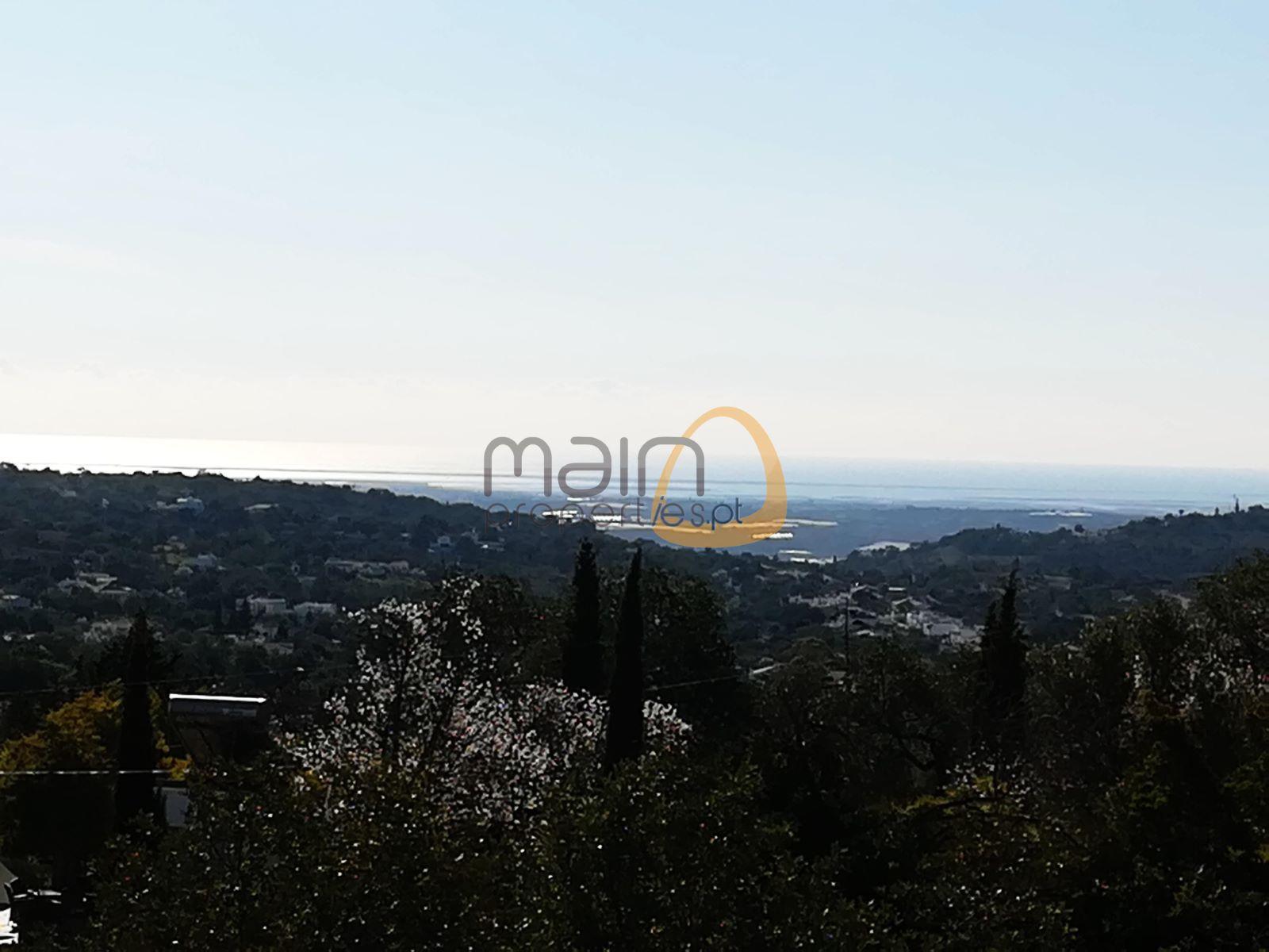 Terreno com vista mar para construção moradia em Bordeira RB010MP