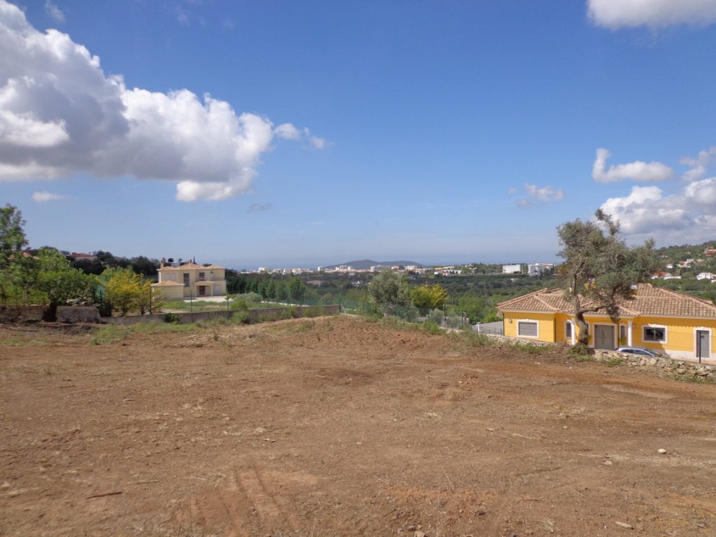 Terreno Urbano com vista próximo de Loulé MP077FT