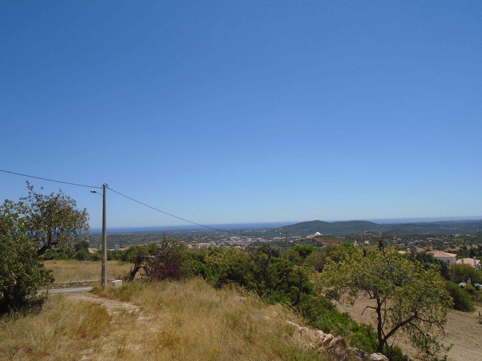 Terreno para construção com vista mar próximo de Loulé PC286