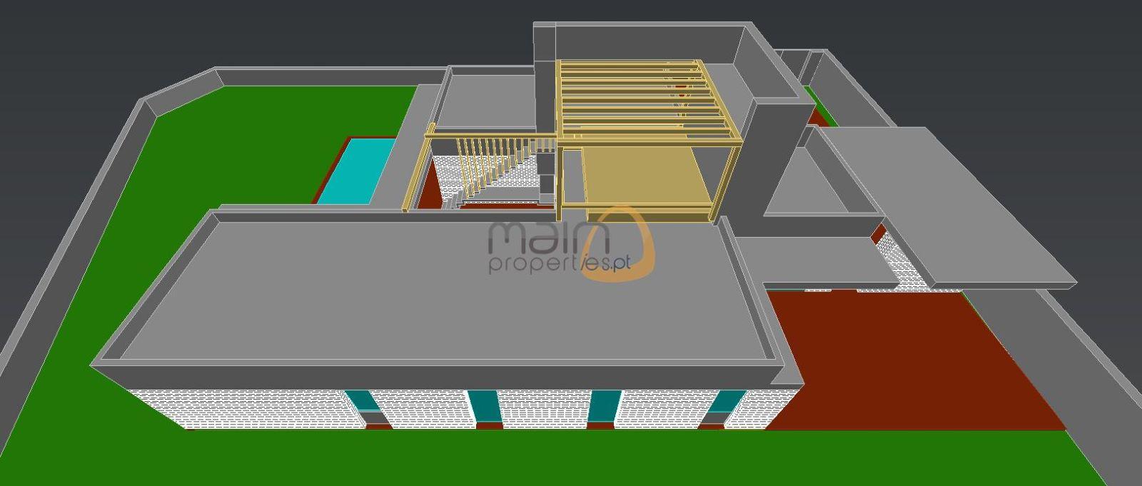 Moradia moderna com 3 quartos, chave na mão, com piscina entre Almancil e Loulé
