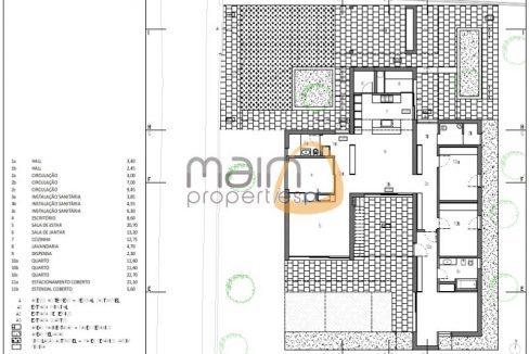 Moradia moderna com 3 quartos, chave na mão, com piscina entre Almancil e Loulé MP114PG