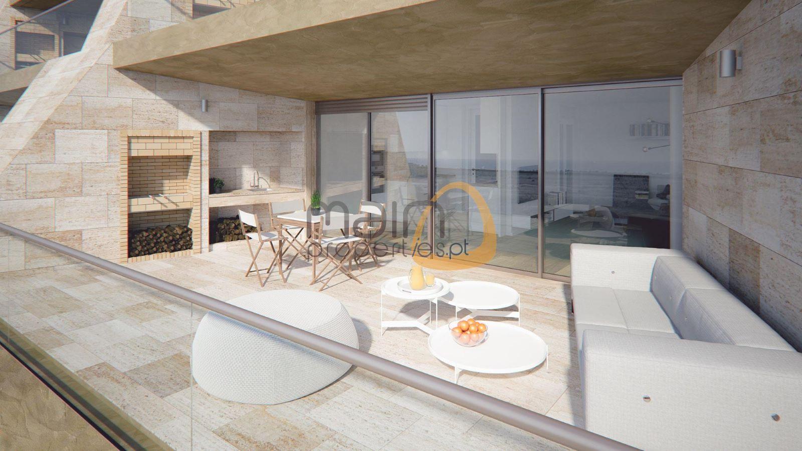 Apartamento com 2 quartos de luxo em construção em Vilamoura