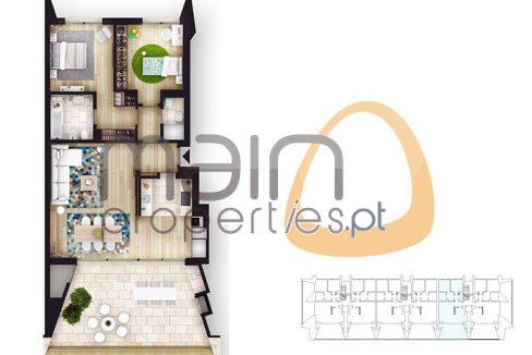 Apartamento com 2 quartos de luxo em construção em Vilamoura RF142_3
