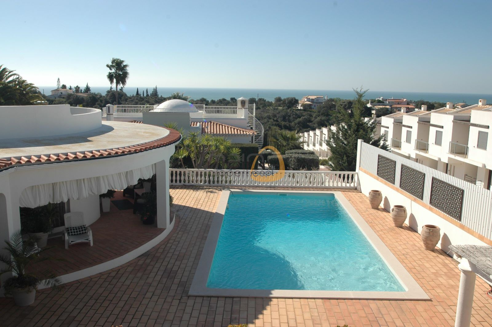 6 bedroom villa with sea view in Albufeira
