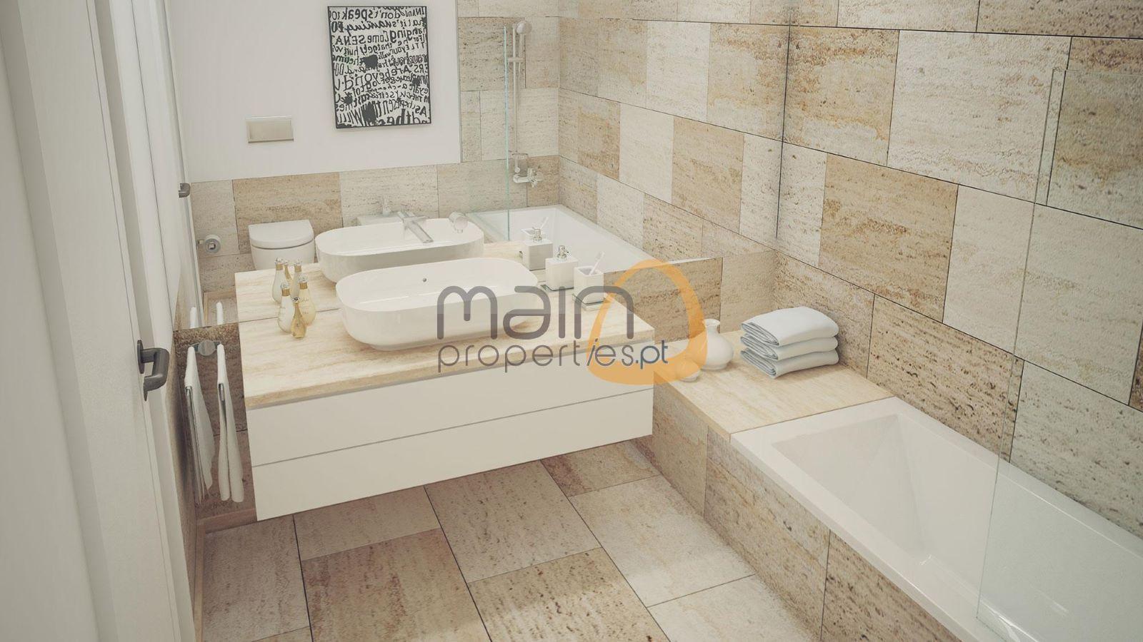 Apartamento com 2 quartos de luxo com piscina privada em construção em Vilamoura RF143