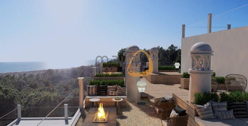 Luxuoso apartamento novo com 2 quartos na praia do Ancão :: RF162