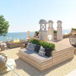 Luxuoso apartamento novo com 2 quartos na praia do Ancão :: RF163