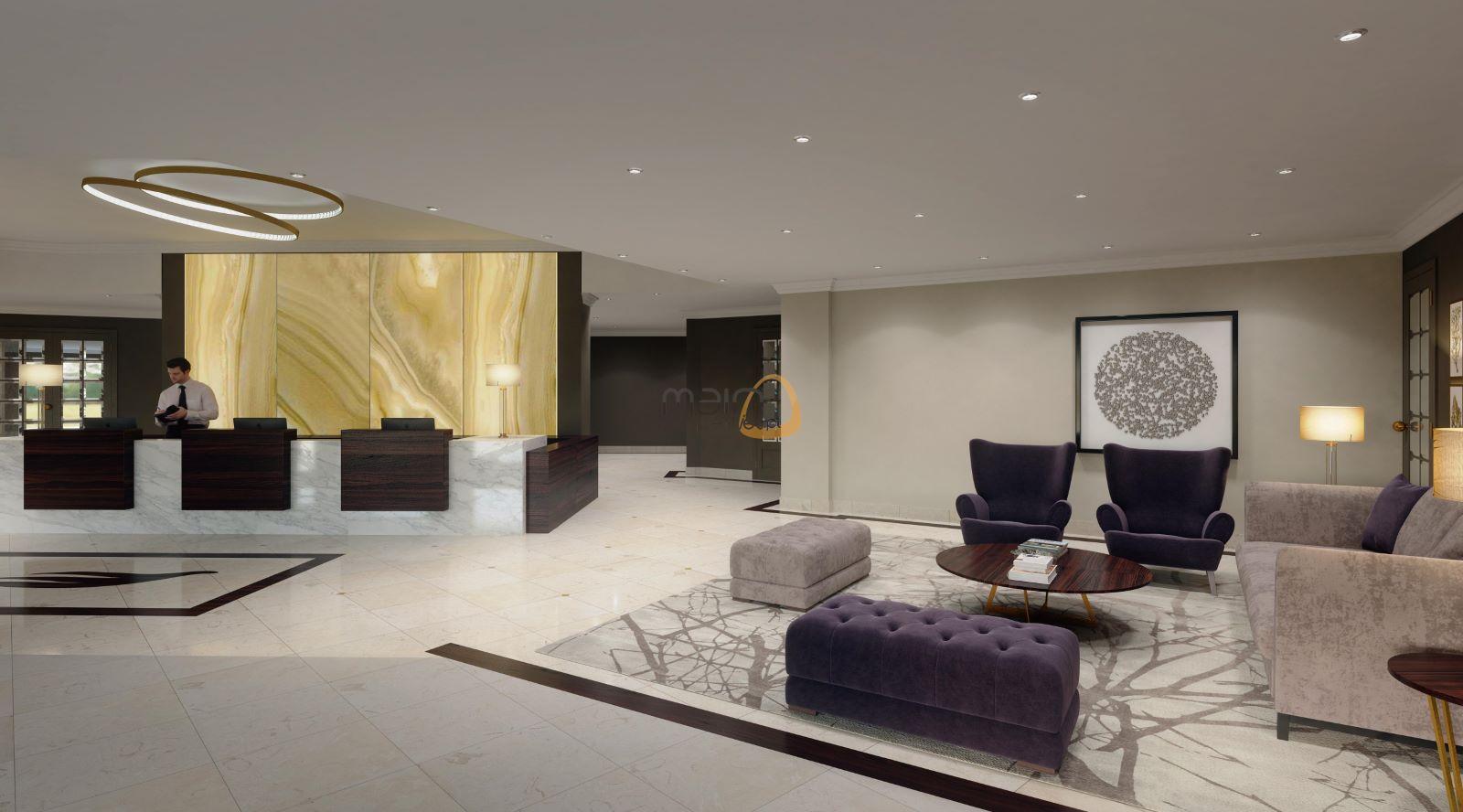 Apartamento novo na praia do Ancão :: Recepção 1 :: MainProperties :: RF160