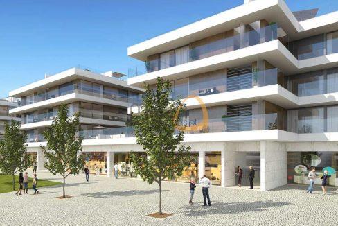 Investimento – Lotes para apartamentos e lojas em Almancil RU129_PP1