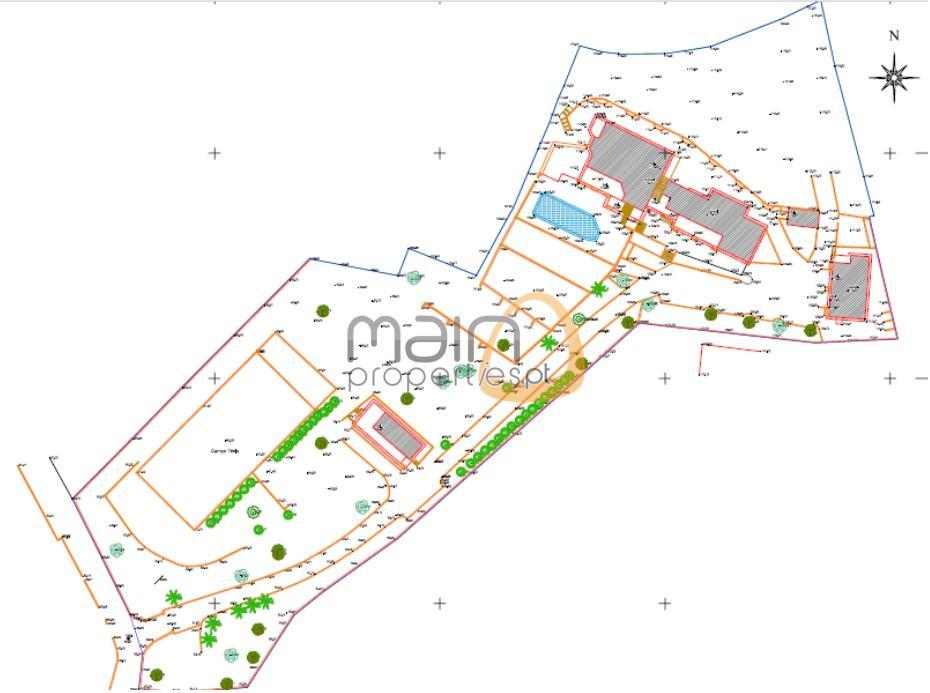 Moradia com 5 quartos, vista mar, campo de ténis em Vale Formoso MP121MD
