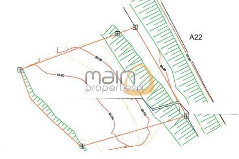 Terreno rústico entre Almancil e Loulé MP124