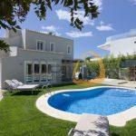 Moradia de 4 quartos próxima da praia em Vale do Lobo :: 01.0513 - piscina