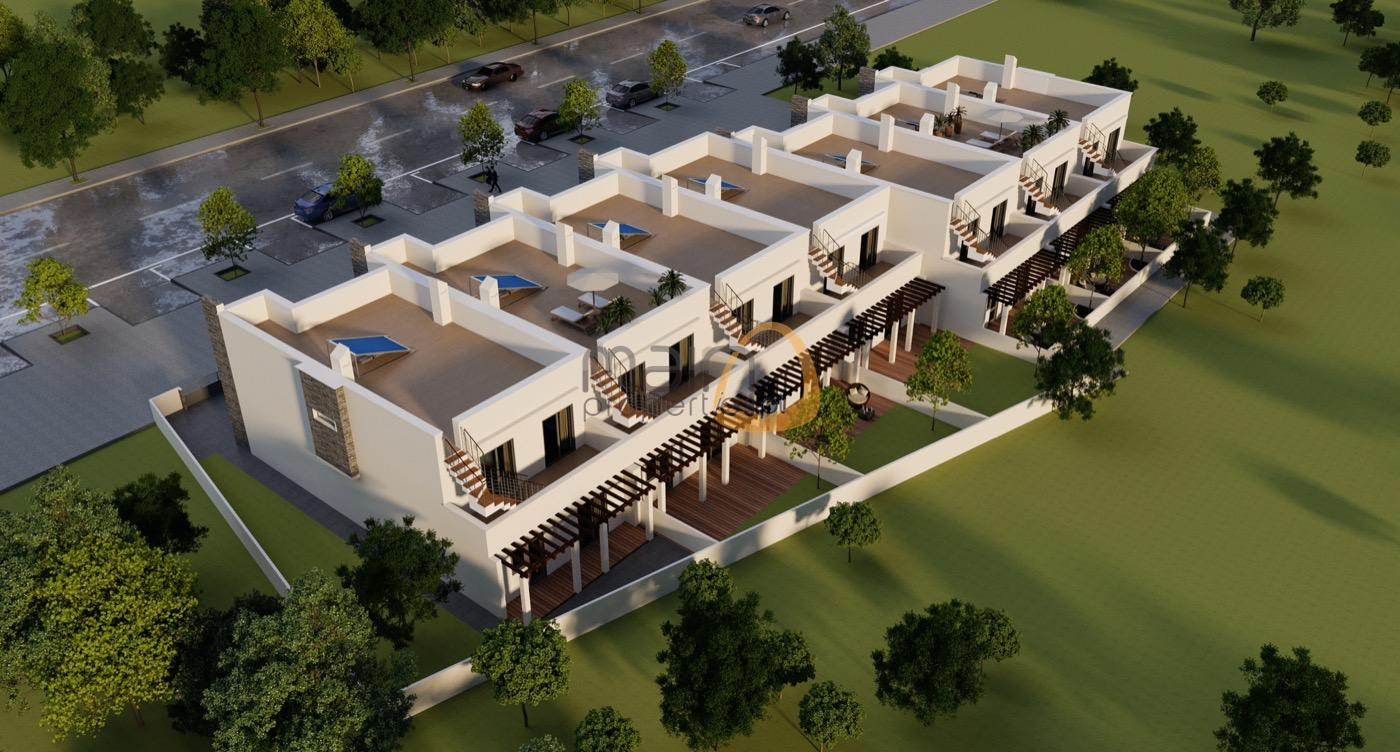 Investment – Lot for construction of 17 houses with approved project in Olhão