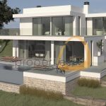 Land for Villa construction in Montenegro - Faro : Algarve : Portugal :: 3D Plan :: MainProperties :: MR039