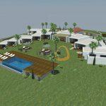 Hotel em construção com 12 quartos e vista mar próximo Loulé - projeto
