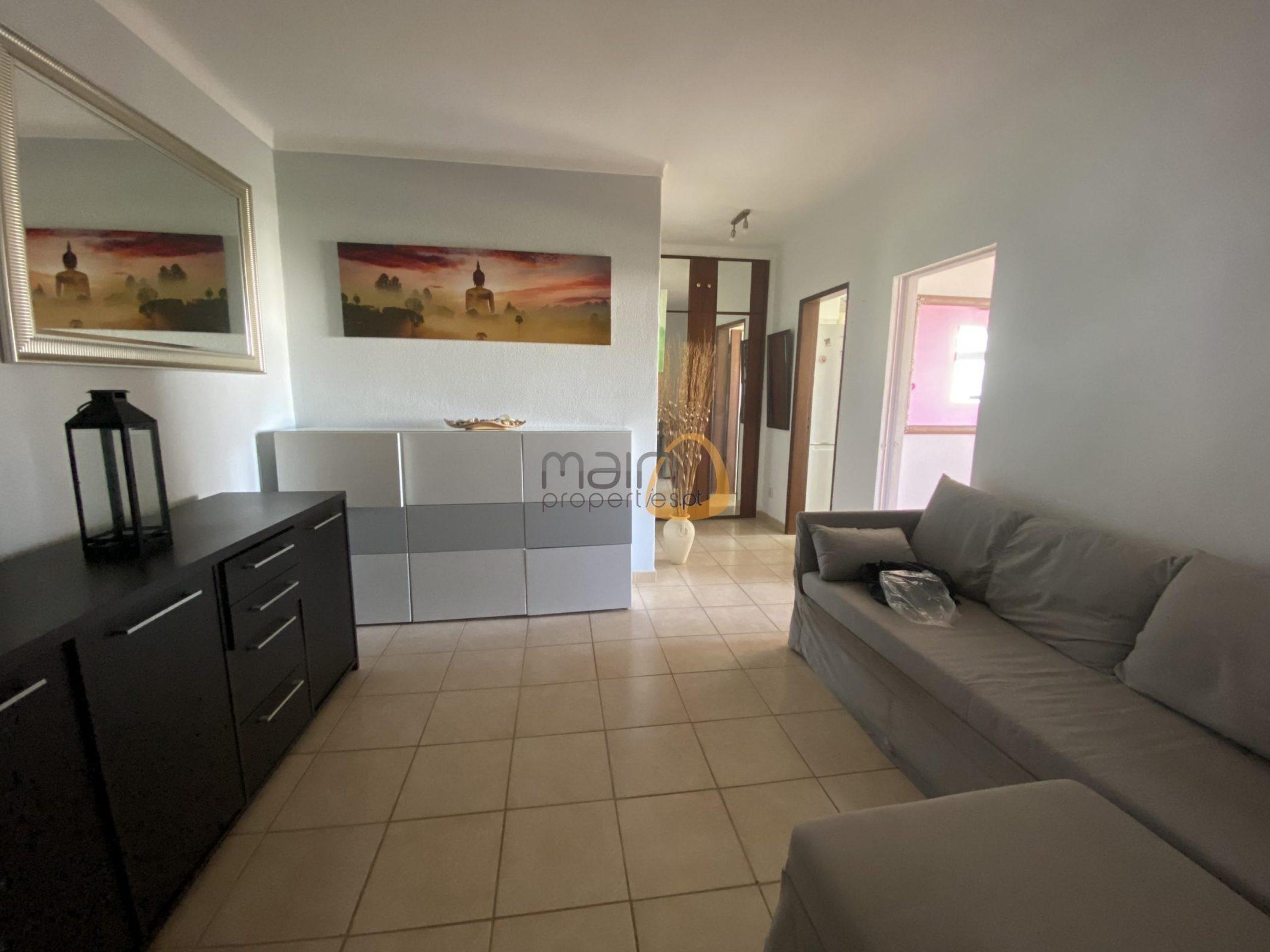 Apartamento de 1 quarto próximo da praia, em Quarteira.