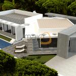 Moradia nova de luxo com 5 quartos e piscina privada em Vilamoura :: MR051