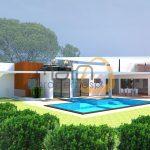 Moradia nova de luxo com 5 quartos e piscina privada em Vilamoura :: MR049