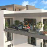 Apartamento novo com 3 quartos, piscina e vista mar em Quarteira :: MR052_L