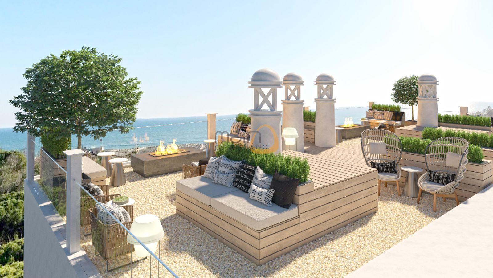 Apartamento novo exclusivo de 1 quarto na praia do Ancão RF161