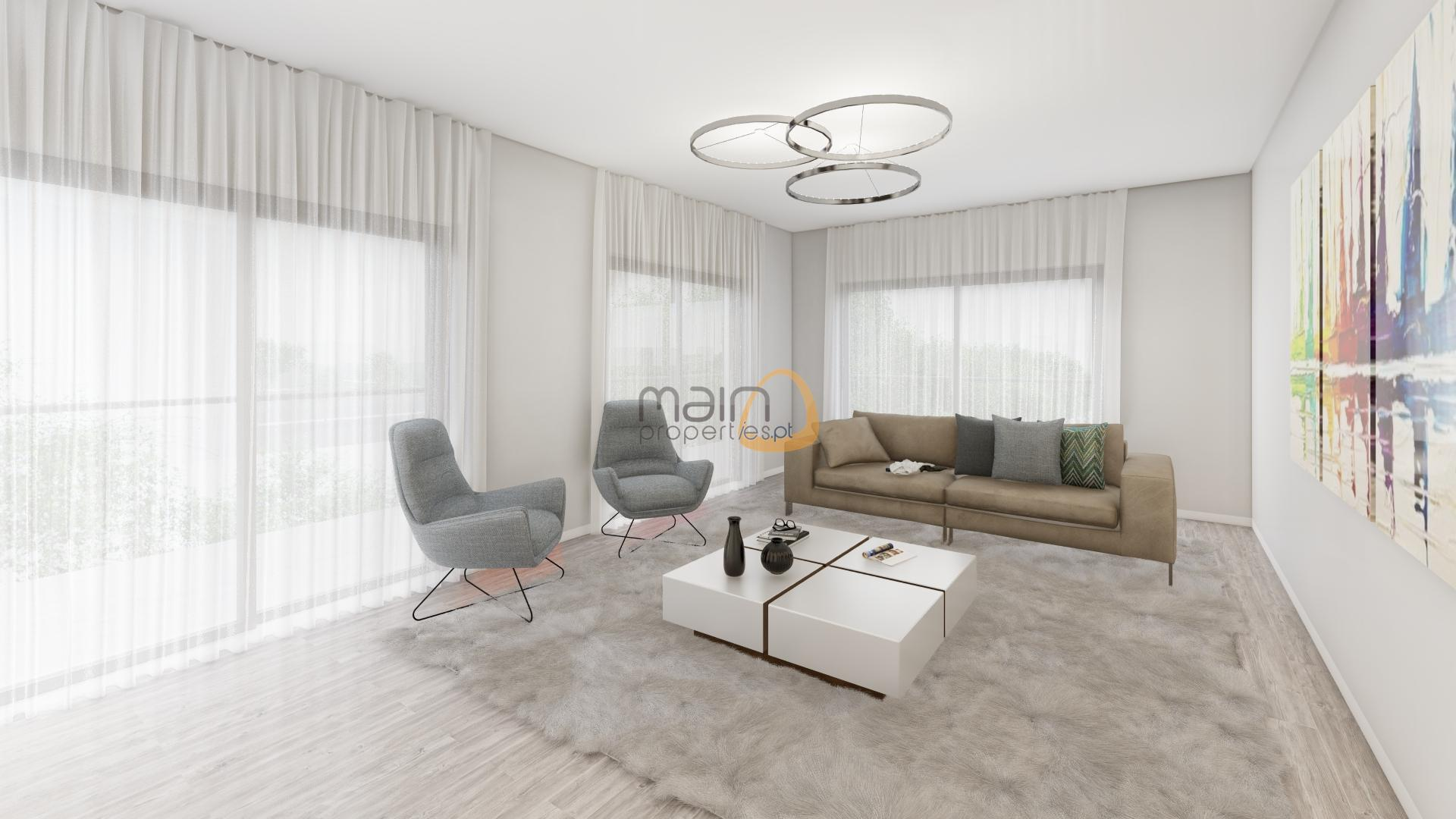 New apartments with 1, 2 and 3 bedrooms in Faro